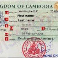 Vietnam visa in Cambodia