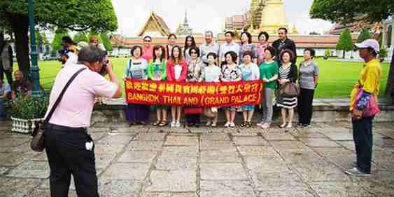 Bắc Kinh đòi Thái Lan miễn Visa cho du khách TQ