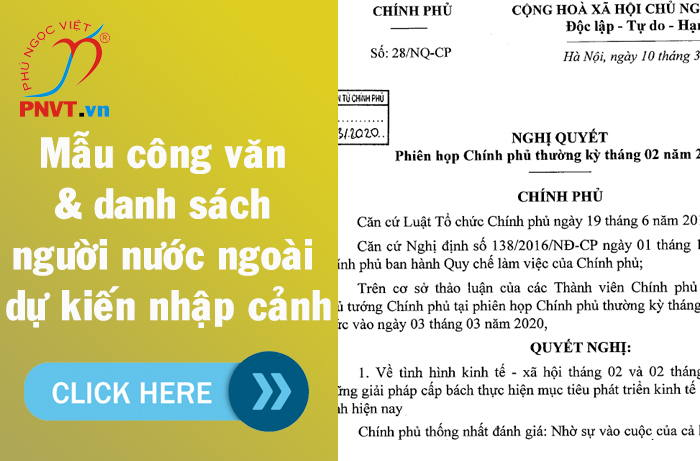 Chuyên gia nước ngoài được phép nhập cảnh làm việc tại Việt Nam sau đại dịch Covid-19