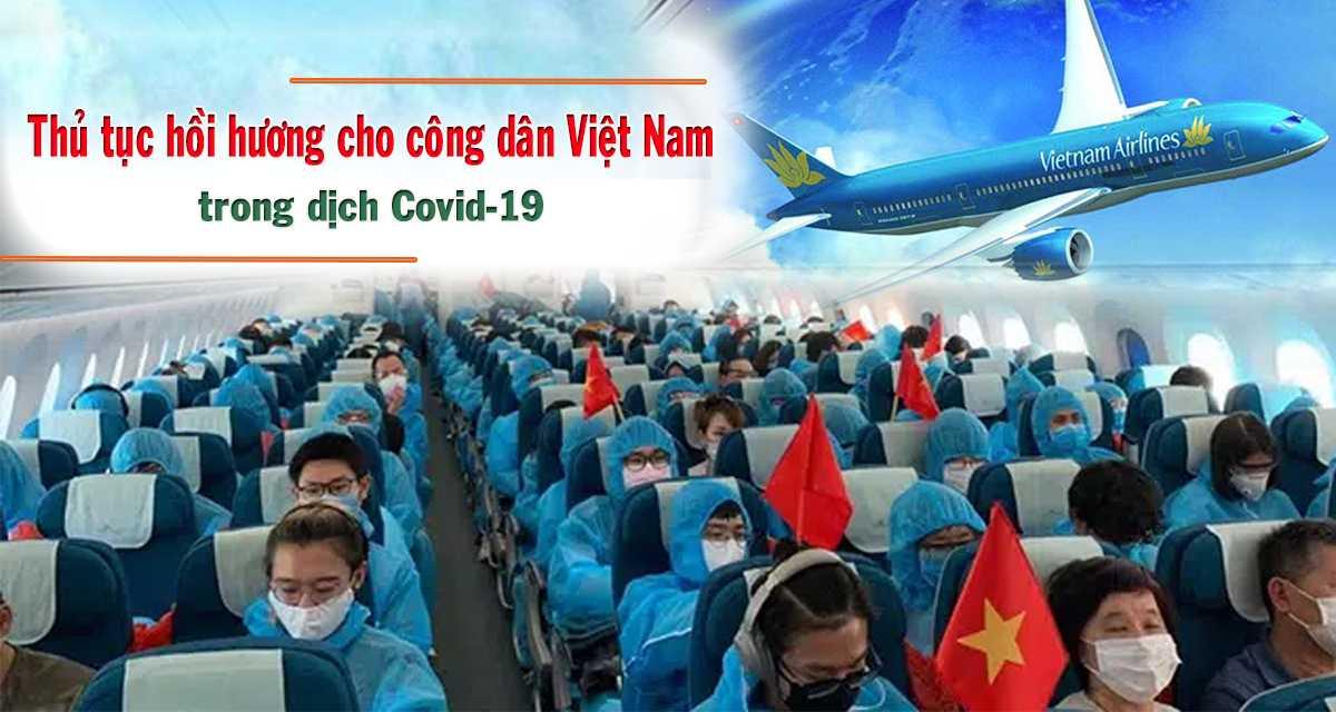 thủ tục hồi hương cho công dân Việt Nam
